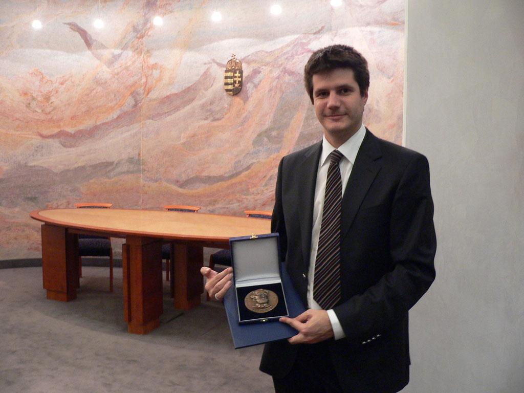 Ásztai Bálint Reitter Ferenc díjat kapott  STOA